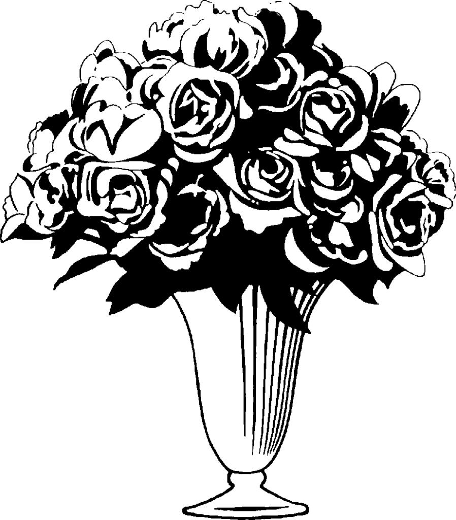 4398809fd06678db1fab79eb21d8f602_rose-bouquet-clipart-black-and-white-rose-bouquet-clip-art-black-_923-1052